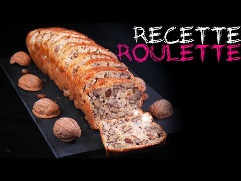 Recette : cake chèvre, noix et raisins