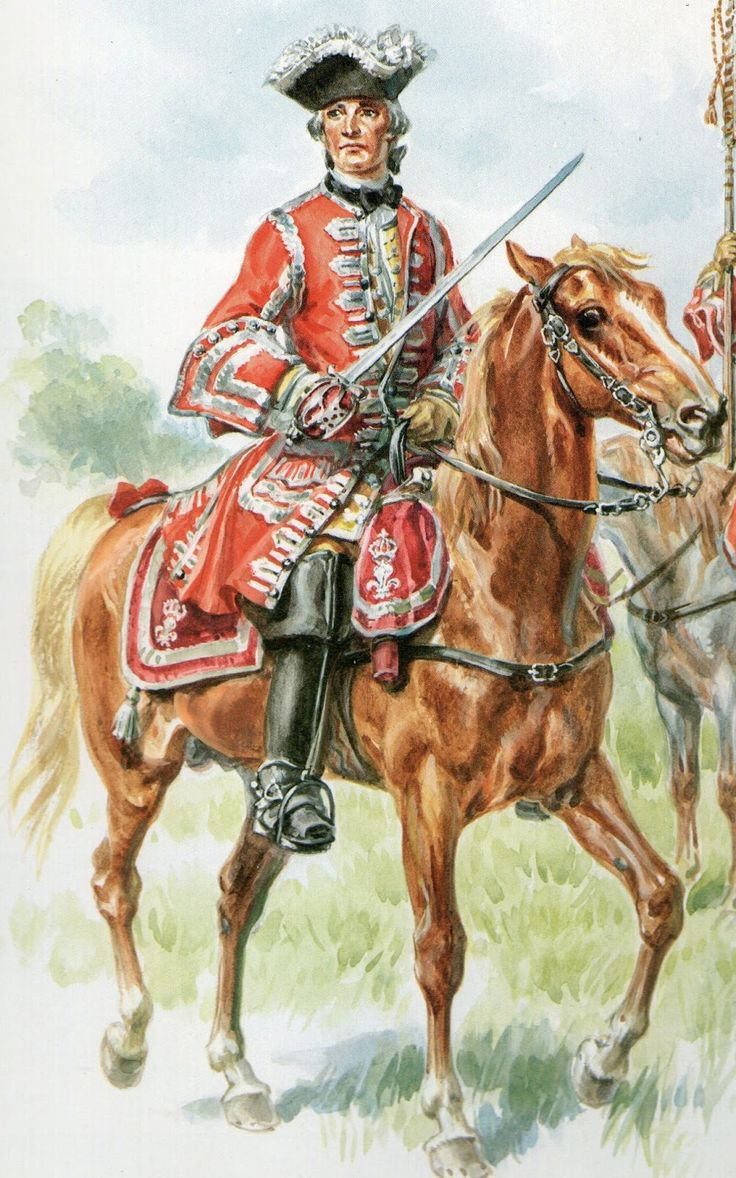 scottish gendarmerie of the royal guard  france  by eugene