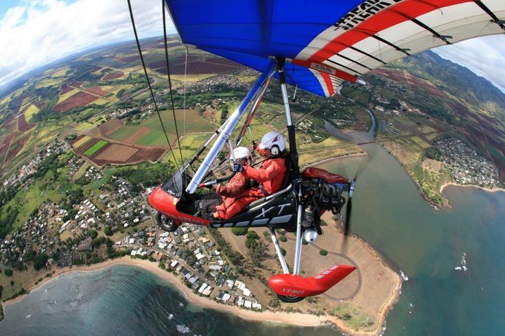 Got to Fly the Motorized Hand Glider in Oahu, Hawaii.: Buckets Lists, Oahu Hawaii, Hands Gliders, Carpe Diem, Motors Hands