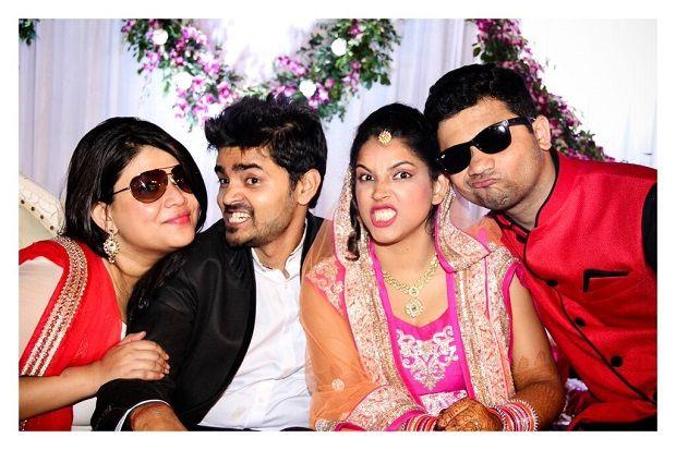 Fun Wedding Photography ideas. Creative Candid Wedding Photography by Sandeep Gadhvi Photography at Vadodara,Gujarat