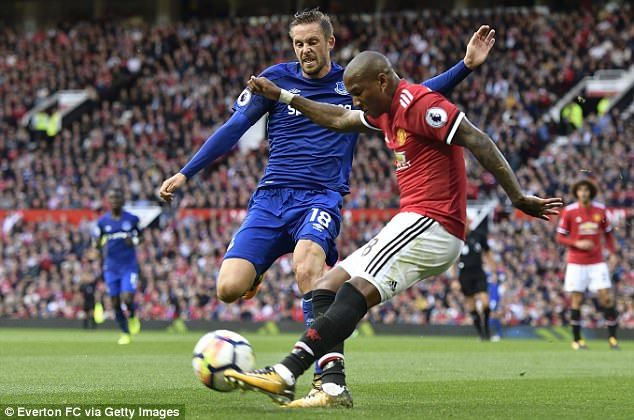 Ashley Young, Daley Blind and Matteo Darmian have all been used at left back by Mourinho