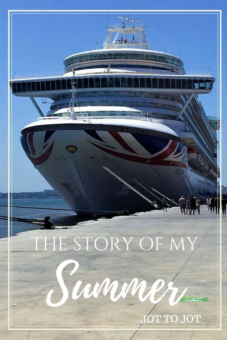 The story of my adventures over the summer!