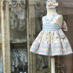 Y así de bonito lo encontraras en nuestra tienda del centro 💙💙💙 #vestidosdivinos #vestidosniña
