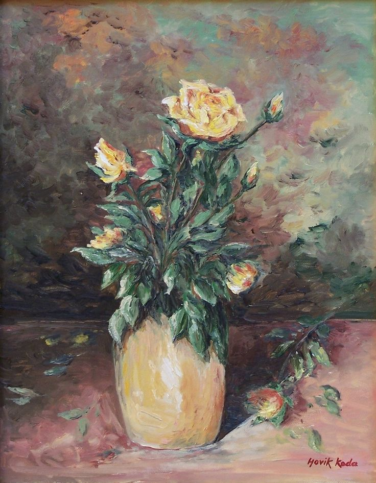 Yellow Blossoms-Sold