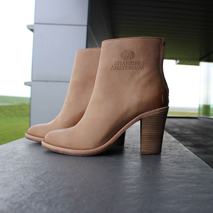 New Arrivals --> http://omoda.nu/Shabbies-Boots-Beige