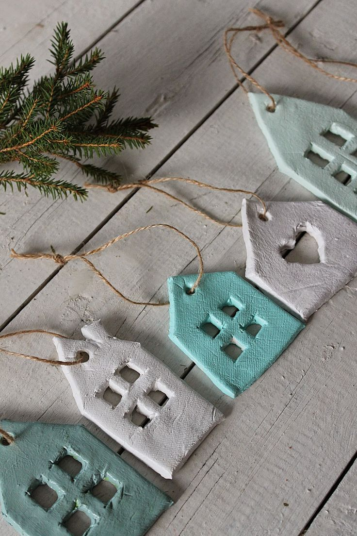 Huset ved fjorden Mehr (Simple Christmas Crafts)