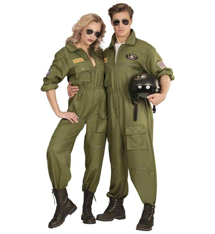 Comprar Disfraz adulta Piloto de Combate Instructora Top Gun.