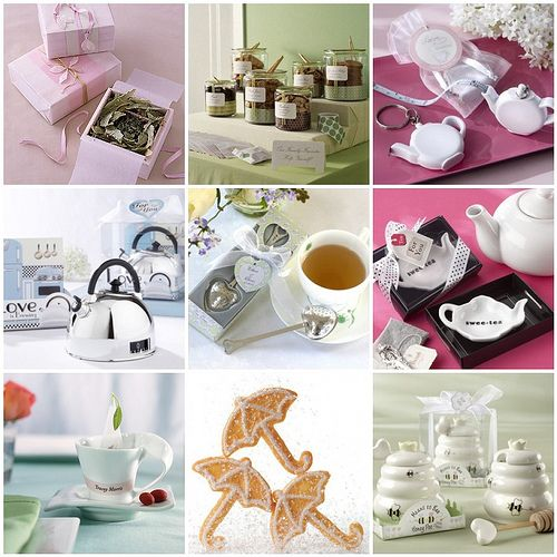 ideas for a bridal shower tea party