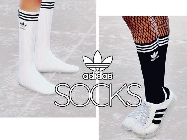 Adidas Wadenlange Socken – Die Sims 4 Download – SimsDomination