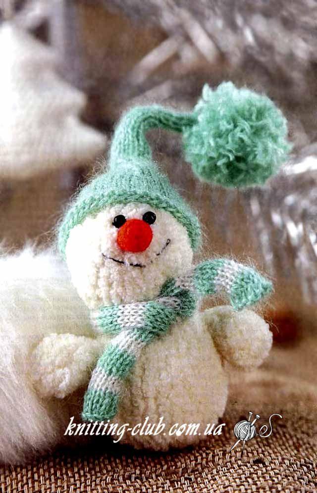 снеговик весельчак к новому году Pinterest