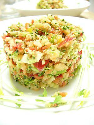 Tebasiles Kitchen: Broccoli Hemp Slaw