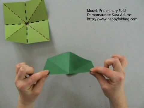 Preliminary Fold: Instructions   Happy Folding