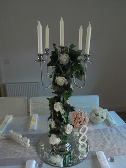 Wedding Centerpiece Hire Including Set Up In Essex London Kent And Hertfordshire
