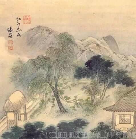 "Jeong Seon was ""The father of True-View Landscape Artist"" having his own Korean style during the Joseon Dynasty."