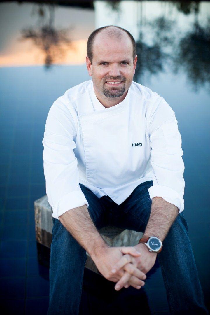 Chefe Miguel Laffan na Rota vdas Estrelas Restaurante Feitoria 2014 Setembro 19 e 20