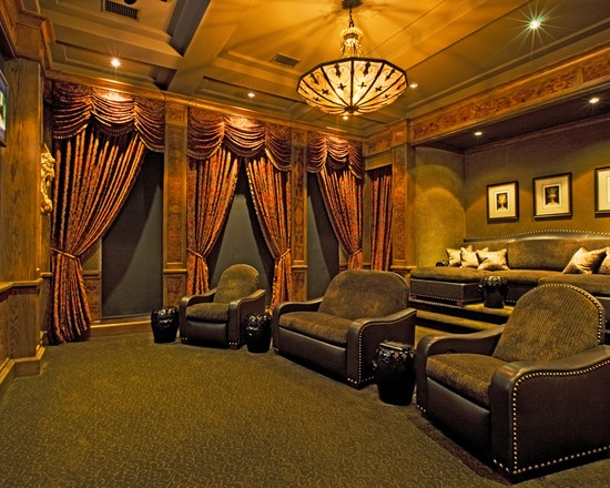 Mediterranean Design. #hometheaters
