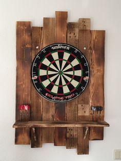 Halex -Oxford Bristle Dartboard W/Cabinet   Father's Day ...