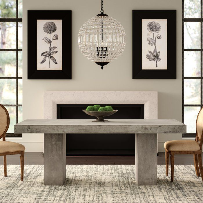Clinchport Dining Table Dining Table In Kitchen Dining Table Concrete Dining Table