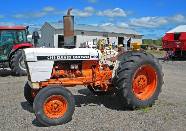 Case 990 Farm Tractors Parts : David brown parts vintage antique db tractor autos