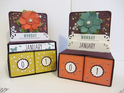 Stamping Moments: Day to Day Perpetual Calendar Stamp Class