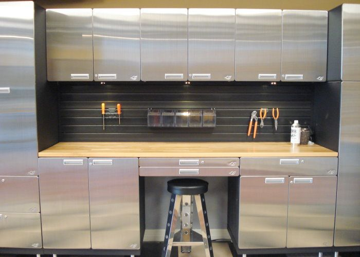 New Used Metal Cabinets for Garage