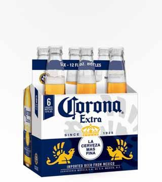 Corona Extra - $10.87 Why be basic when you could be Extra? Corona Extra is a staple at everything from summer beach parties to everyday occasions. This pilsner style Mexican beer has starts sweet and finishes citrusy, with hints of lemon and ginger. Best served with a fresh wedge of lime, and sipped under an umbrella on the beach.