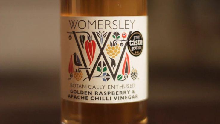 VIDEO: Raspberry & Apache Chilli Vinegar made by @rupertparsons