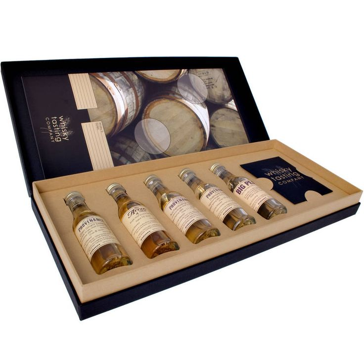 Personalised Whisky Gift Set from notonthehighstreet.com
