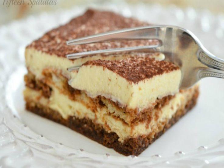 Italian Tiramisu- Easy Makeahead Dessert With Espresso And Mascarpone Recipe Video by Fifteen.Spatulas | iFood.tv