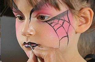 Tutorial Make up for kids    http://www.mestieredimamma.it/25/10/2012/consumi/trucchi-di-halloween-per-bambini/#