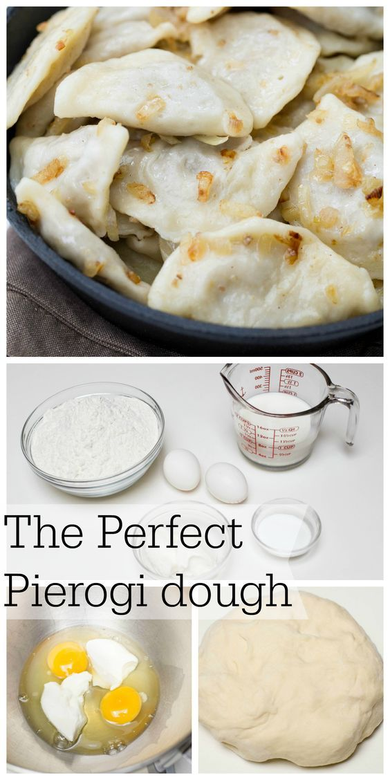 You Totally should pin this, you never know when you may need THE perfect Pierogi dough!