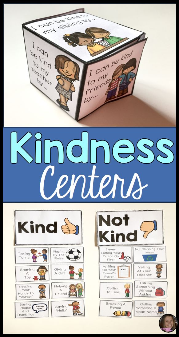 These kindness centers include 6 activities to use with your early elementary kids! Students will learn what kindness is and how they can practice it through acts of kindness at school and home. These stations are perfect for your small group and classroom lessons.