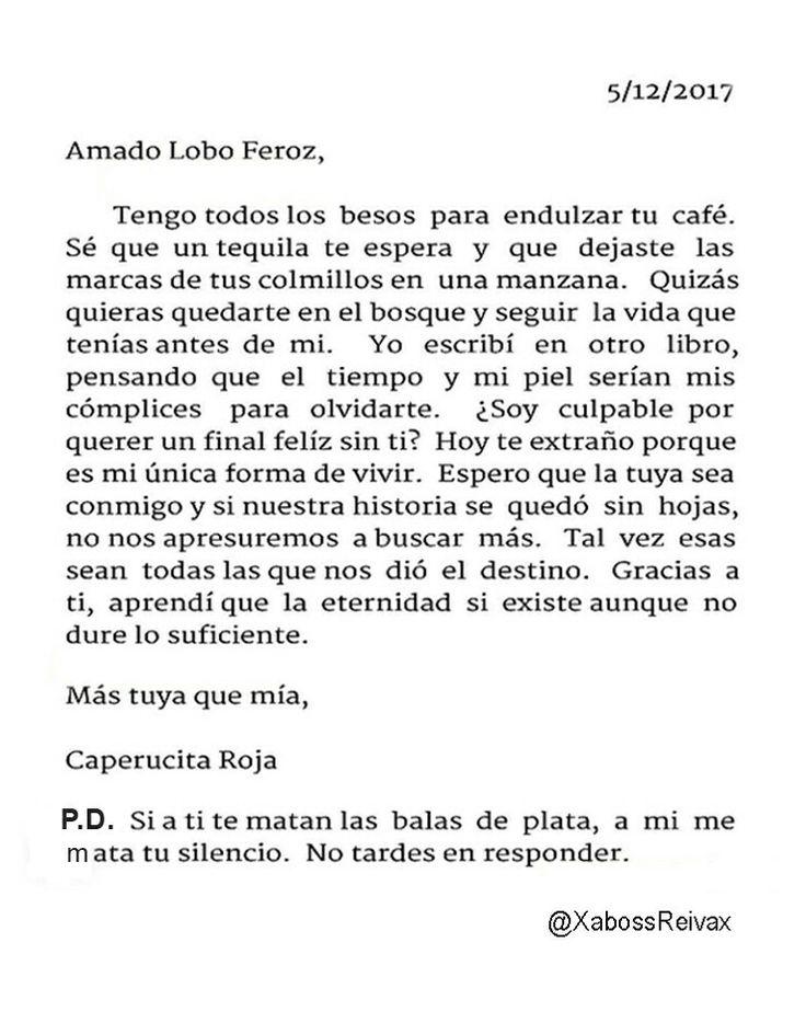 Carta#43   @XabossReivax   #ByXaboss