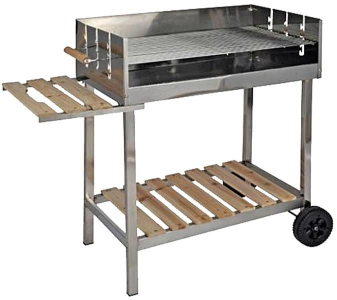 BBQ collection BBQ-Grill trolleywagen RVS