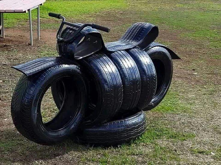 находится поделки из колесных шин своими руками фото потому рекомендован всем