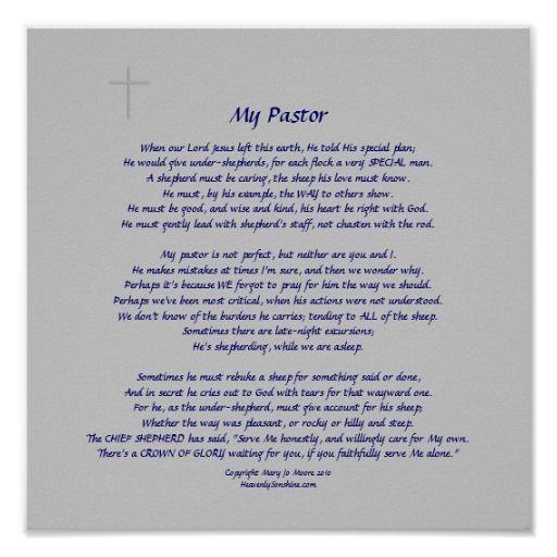 poem for pastor appreciation   pastors faint cross embellishment nice gift for pastor appreciation ...