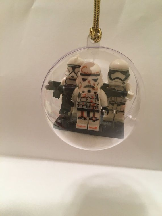 Lego Star Wars like christmas ornaments Storm by TheForceofMarvel