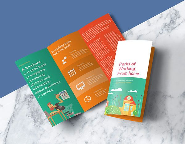 40 Best Free Tri Fold 3 Panel Brochure Mockup Psd Files Brochure Psd Trifold Brochure Design Brochure Mockup Free