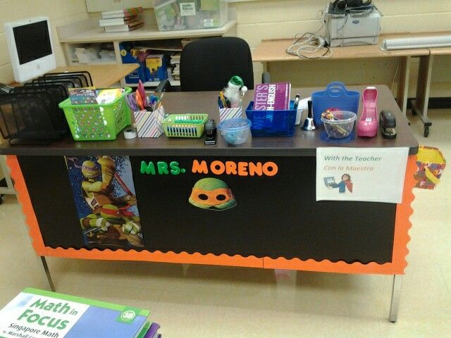 Ninja turtle hero theme classroom