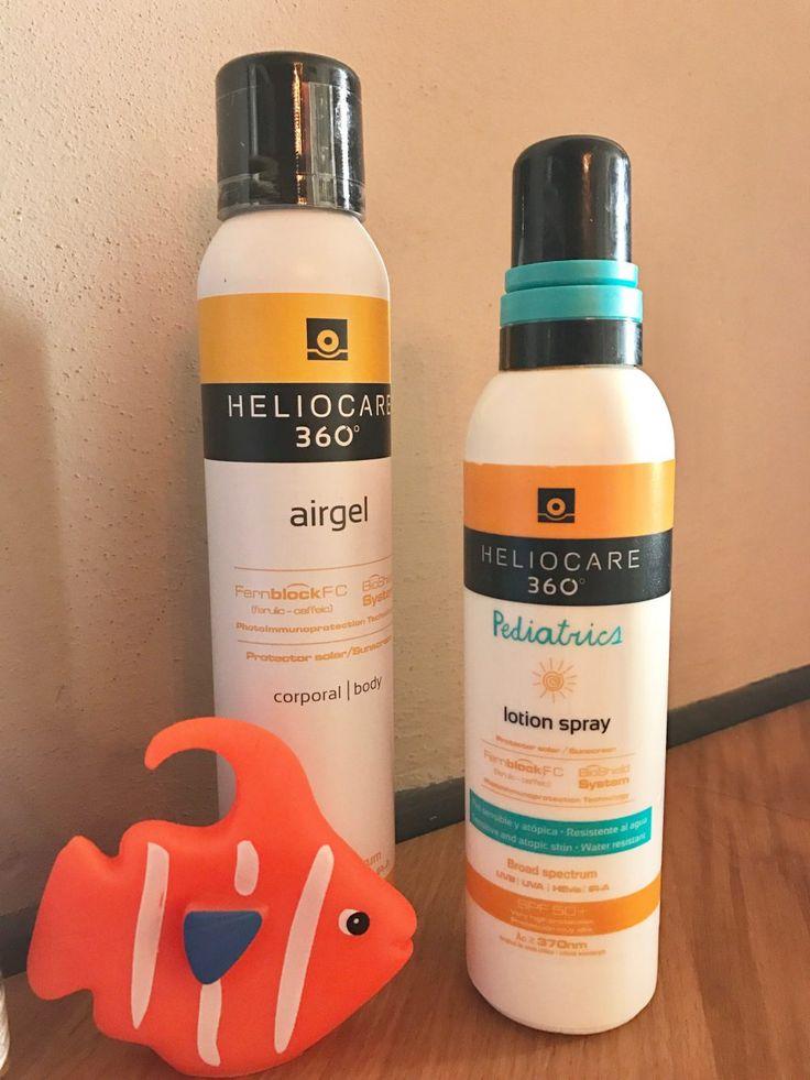Pelle al sole: come abbronzarsi in maniera sicura e completa con la linea Heliocare 360° per mamme e bambini - Mamme a spillo