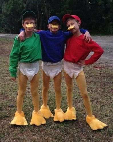 Tick Trick Track Kostüm selber machen | Kostüm-Idee zu Karneval, Halloween & Fasching