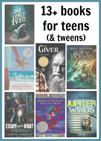 13+ Books for Teens (and tweens)   A list of recent recommendations for age appropriate books that aren't dumbed down.