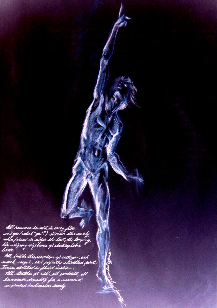 """Ecorche of the inside"", drawing after Giambologna's ""Hermes""- more on http://patriciabeykrat.com"