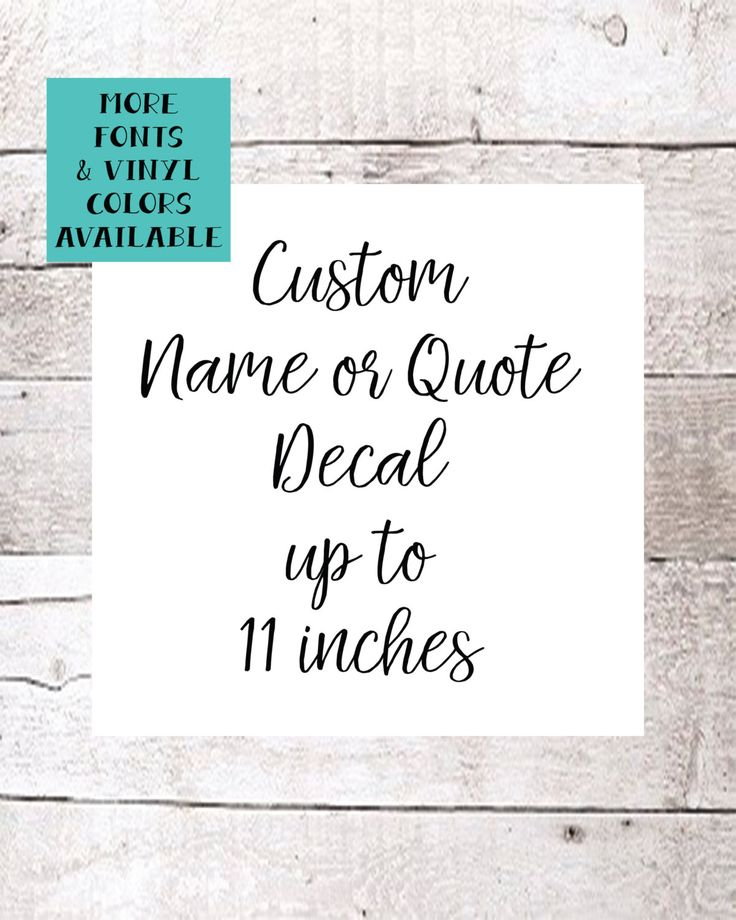 Best Images About Decals On Pinterest - Custom vinyl decal quotes