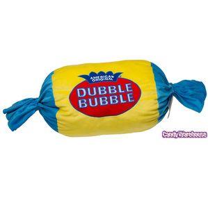 Big Plush Dubble Bubble Gum Candy Pillow