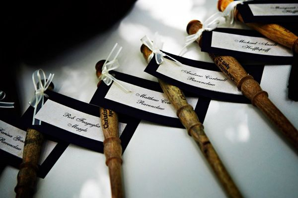 Gorgeous Harry Potter Themed Wedding