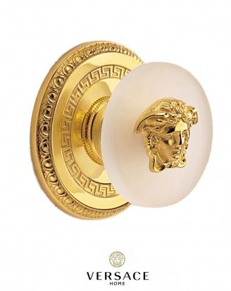 Versace Home Collection - Gold Plated door handles. Truly a touch of elegance!