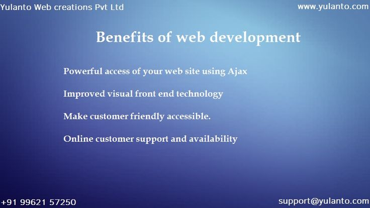 Improved in the #web technology has made the more customer to get impression on the business.