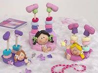 Muñecas en porcelana fría