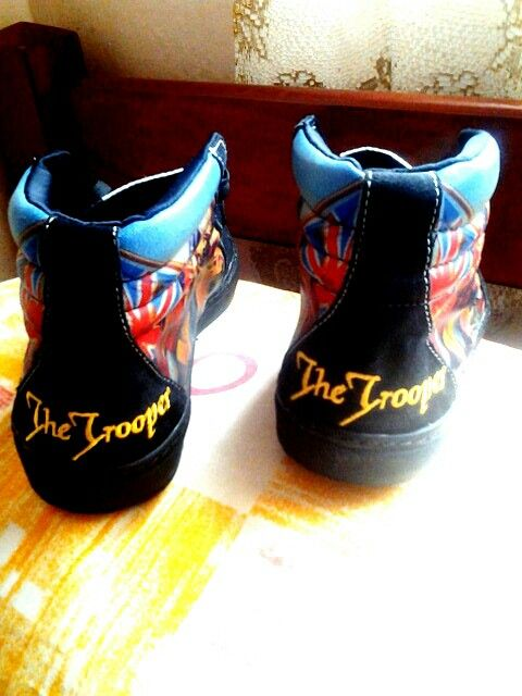 My boot the trooper iron maiden